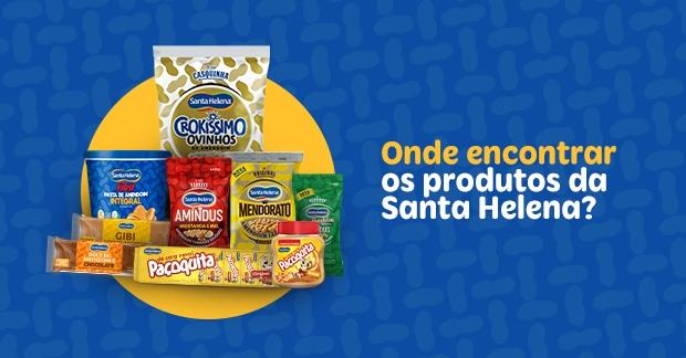 Onde encontrar os produtos da Santa Helena?