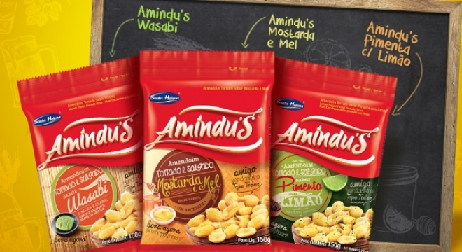 Launch of three new Amindu's flavors