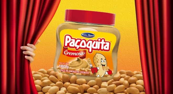 Traditional Paçoquita is now available in a creamy version